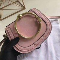 Wholesale Plain Bracelets - 2017 new fashion hot sale Ch family genuine leather top quality letter handbag crossbody shoulder bag large size nile bracelet bag