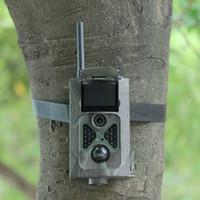 Wholesale Scouting Trail - Wholesale-Suntek HC500M Hunting Camera HD 2G GSM MMS GPRS SMS 12MP 120 Degree PIR Sensor Control Scouting Infrared Wildlife Trail Camera