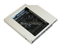 Wholesale Asus X51rl - Wholesale- for Asus X Series X51RL X51R X51L X58L X58C X58 Laptop Internal 2nd HDD SSD Caddy Second Hard Drive DVD Optical Bay