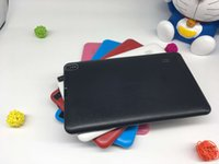 tabletas linternas al por mayor-A33 Quad Core Tablet 9 pulgadas Allwinner A33 Tablet 8 GB con doble cámara WiFi OTG Bluetooth linterna cámara trasera DHL gratis