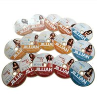 Wholesale Yoga Video Dvd - Jillian Michaels Yoga Exercise Fitness 15DVDs Body Sculpting Fitness Supplies Videos Workout DVDs Lose Weight Slimming Training