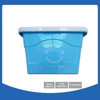 Wholesale Plastic Clothing Storage Bins - Storage Boxes New environmentally friendly plastic Storage Bins clothes Kids Room Toys Storage Boxes Multicolor Fashion cute