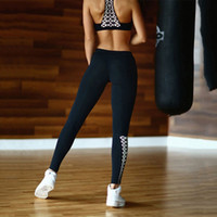 Wholesale- 2Pcs Tracksuit para Mulheres Sport Sets 2017 Fitness Vest + Calças Leggings Set Gym Exercício Sexy Sports Wear Running Clothing