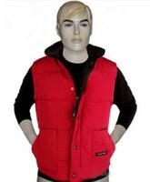Wholesale Mens Vests Xs - Free shipping Brand winter jacket Mens FreeStyle Vest Goose Vest Down Vest Down jacket 5 color