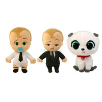 Wholesale hot sale anime online - Hot Sale Style quot cm Dreamworks The Boss Baby Plush Doll Stuffed Toy For Child Gifts