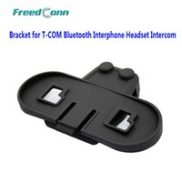 Wholesale Helmet Interphone Bluetooth Intercom - Wholesale- Free Shipping!!FreedConn Bracket for 1000m motorcycle BT bluetooth multi interphone headset helmet intercom
