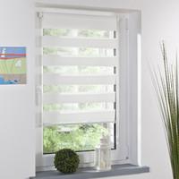 Wholesale zebra home decor - Wholesale-Fashion Luxury Roller Zebra Blind Curtain Window Shade Decor Home Office White 3 Sizes for choose