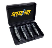 Wholesale High Speed Steel Drill Bits - Speedout High Speed Steel Metal Drilling Drill Speed Out Damaged Screw Extractor & Bolt Extractor Set Removes Any Stripped A384