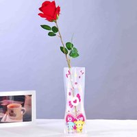 Wholesale Shipping Garden Supplies - Vases Wholesale Garden Supplies FoldableWater Bag Vases PVC Plastic Decoration Home Ornaments Whole Sale Free Shipping
