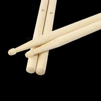 Wholesale Maple Drum Sets - 5A Maple Wood Drumsticks Stick for Drum Drums Set Lightweight Professional