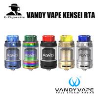 Wholesale Original Bubbles - Original Vandy Vape Kensei 24 RTA Atomizer Pre Order 2ml to Bubble glass 4ml Tank for E Cigarette Box Vape Mod Vaporizer Kit