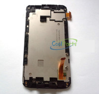 Wholesale Mobile Lcd Replacement Parts - obile Phone Accessories Parts Mobile Phone LCDs Replacement Part White Color For HTC G21 Sensation XL LCD Display and Touch Screen Digiti...
