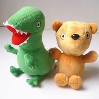Wholesale Dinosaur Toy Pig - 1PC Paige Pig plush toy bear& Plush toy Dinosaurs 17CM Kids Gifts