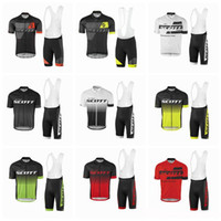Wholesale Compress Sport - 2017 new TANYHO SCOTT cycling jersey Bisiklet team sport suit bike maillot ropa ciclismo cycling jersey Bicycle MTB bicicleta clothing set