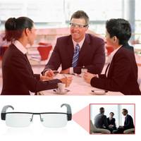 Wholesale High Video Glasses - High Quality HD 1920*1080P Mini Glasses Hidden Camera Security DVR Video Recorder Eyewear Spy Cam V13