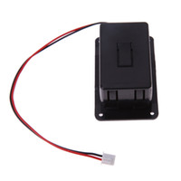 Wholesale Black Box Guitar - 1pc 9V Battery Box Case Cover Holders For Guitar Bass Pickup Black