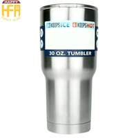 Wholesale Hot Cool Water - Hot Sale Stainless Steel Tumbler Water Cups Thermos Tumblers Cup Keep Drinks Cooling Vacuum Cup For Outdoor Sports Camping
