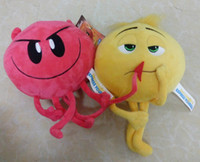 Wholesale Kids Stuff Wholesale - 2017 New Cartoon The Emoji Movie Express Yourself Plush Toy 5 Styles Stuffed Doll Crazy Happy Emoji Toys Gifts For Kids XT