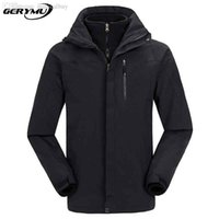 Wholesale Men Outdoor Sport Skiing Soft Shell Jackets Waterproof Windstopper Winter Camping Hiking Snowboard travel Sport and casual wear