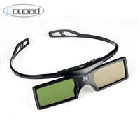 Wholesale Optoma 3d For Glasses - Wholesale- 2017 Newest G15-DLP 3D Active Shutter Glasses For Optoma Sharp LG Acer BenQ DLP-LINK DLP Link Projectors 3d Glasses home used