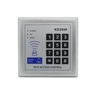 lectores de tarjetas de proximidad al por mayor-Telclado numérico KD2000 del control de acceso del lector de tarjetas de la puerta RFID de la proximidad de 125KHz RFID