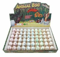 Wholesale growing toys hatch egg resale online - Novel Water Hatching Inflation Dinosaur Egg Watercolor Cracks Grow Egg Educational Toys Interesting Gift