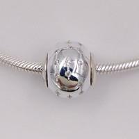 braceletes de confiança venda por atacado-Confiança Essência Encantos Feitos de 925 Sterling Silver Fit Estilo Europeu Marca Pulseiras Colares ALE 796019CZ Beads para Fazer Jóias