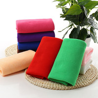 Wholesale hot water cleaners - Hot Cleaning Cloth 30*70cm Fast Drying Water Uptake Auto Clean Towel Superfine Fiber Kitchen Cleanliness Beauty Salon Towels 120pcs IB150