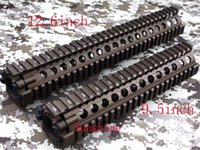 Wholesale Split type inch Picatinny rail aluminum handguard rail system for AEG M4 M16