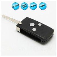 Wholesale Car Remote Key Mini Spy - 1920*1080P Mini Camera Car Key Remote Spy Camera DVR Motion Detection Spy Hidden Camera Portable DVR Security Camcorder
