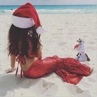 Wholesale T Shirt Little Mermaid - Lovely girl mermaid skirt Girls Peganet Party Dresses little girl seuqined Bling Bling skirt birthday Gowns Beach Boho Dress