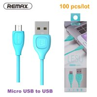 Wholesale android note 2 - REMAX Micro USB Cable for Samsung Galaxy S3 S4 S5 S6 S7 Charging Data Sync Android Cable for Note