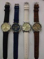 часы для воды оптовых-оптовая 50pcs / lot смешайте 4colors кожаные наблюдатели отдыха Waters WR033