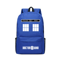 Boys blue dimensions - Blue Oxfor Bag TV Time And Relative Dimensions In Space Doctor Who Backpack Children School Bag Doctor Who Shoulder Bags for Boys and Girls