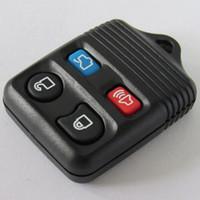 araba uzaktan kumandaları için yedek düğmeler toptan satış-Yeni yedek Ford 4 düğme uzaktan kumanda için anahtarsız giriş uzaktan anahtarlık uzaktan kumanda durumda araba anahtarı kabuk