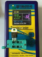 ingrosso componenti del transistore-Freeshipping Portatile Nuovo Componente Tester Transistor Diode Capacità ESR Meter Mosfet NPN MPN Mos Induttanza