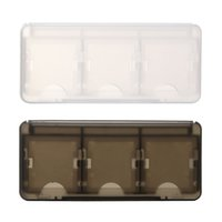 as pic HDD as pic Wholesale- 2Pcs Set 6 in 1 HEPD Material Game Card Box for New 3DS 3DSLL Card Case 2DS Game Card Shell for New Nintendo 3DS XL Case