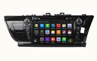 """Wholesale Dvd Corolla 3g - Quad Core 1024*600 Android 5.1 2 din 9"""" Car dvd player for toyota Corolla 2014 2015 Right Car Radio GPS 3G WIFI Bluetooth TV USB Car DVD"""