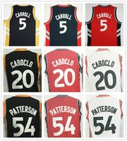 Wholesale Ross Shipping - Free Shipping #5 DeMarre Carroll 31 Terrence Ross Basketball Jerseys 20 Bruno Caboclo 54 Patrick Patterson 92 Lucas Nogueira Jersey
