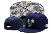 Wholesale baseball caps for women navy resale online - Navy Blue Brand Cayler Sons Money makeitrain Snap back hip hop sport cap baseball hat for men women snapbacks high quality TYMY