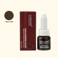 Wholesale Product Tattoo - Wholesale-Permanent Makeup eyebrow Pigment For Tattoo eyebrow microblding pigment Inks makeup products Black Coffee Color microblading ink