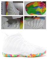 Wholesale Women Cheap Fur Real - Wholesale Hot Sale Women FRUITY PEBBLES basketball shoes Penny Hardaway Outdoor athletic real shoes discount cheap sneaker size 36-40