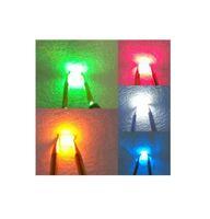 ingrosso smd diodo rosso giallo-MIX SMD 0805 LED diodo rosso / verde / blu / bianco / giallo / arancio / rosa / viola