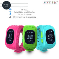 KOOLWIC Smart Watches Child Anti Lost Baby Kid Safe SIM-карта SOS Call Watch Phone Wristbands GPS Location Location Tracker