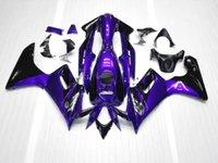 Wholesale Honda Cbr125r Fairings - ABS Fairing Plastic Set For Honda 05 04 CBR125R 2004 2005 CBR 125R 04-05 purple black