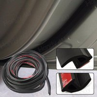 Wholesale Door Window Rubber Seal Strips - weather strip 6M 240INCH Length 11MM Hollow P pillar Shape Air Seals Self Adhesion Car Door Window Rubber Seal Filler Strip Weather Strip