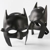 batman mardi gras al por mayor-Máscara de Batman v Superman Máscara de Batman de alta calidad Máscara de fiesta de Mardi Gras Disfraz de Traje de disfraces Tema de disfraces (Negro)
