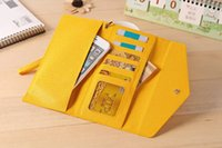 Wholesale Galaxy S4 Folding Case - Luxury Zipper Strap 5.5'' Universal Wallet Leather Pouch Case For Samsung Galaxy A310 A510 J510 J710 J5 S4 S5 Fold ID Card Purse Money Cover