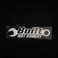 Costruito non comprato Drift Racing all'ingrosso Cool Car Vinyl Sticker Car Styling 10 pezzi / lotto Z-1101-1