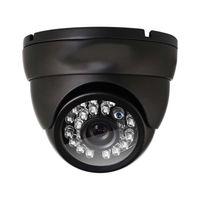 ir tag nacht cctv kamera großhandel-Analoge Haubenkamera HD 1000TVL Überwachungskamera-Tagesnachtsicht 24 IR Leds Innenweitwinkel 3.6mm Objektiv-Metallvideo-Überwachungskamera